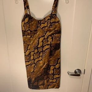 XOXO Leopard Minidress
